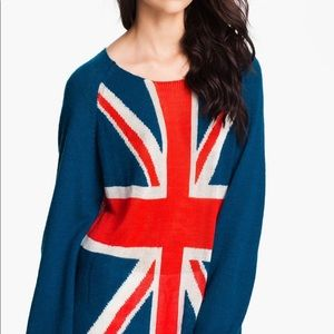 WILDFOX Save the Queen Pennylane sweater